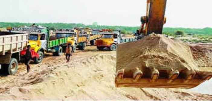 CM gagan Review on sand mining and distribution